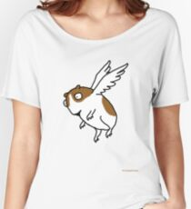 Flying Guinea Pig Women's Relaxed Fit T-Shirt