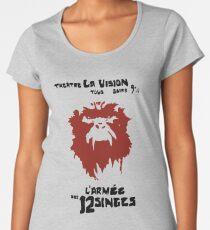 12 Affen, l'armée des 12 singes, Affe, L'Armée des douze singes Frauen Premium T-Shirts