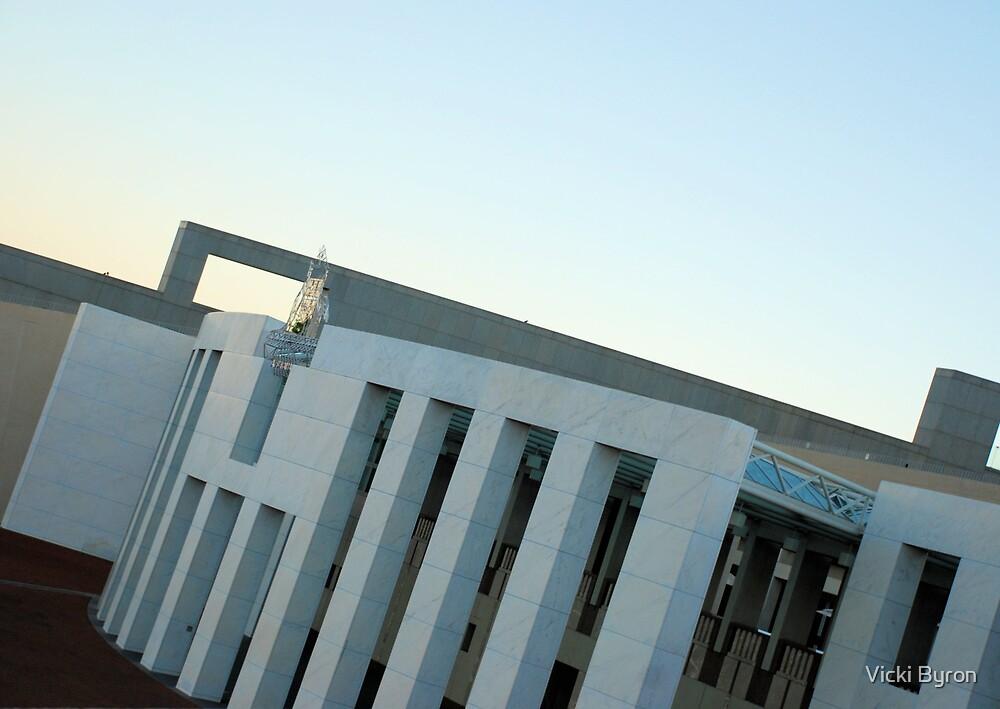 New Parliament House by Vicki Byron