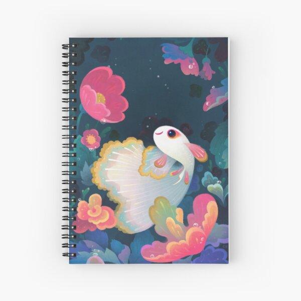 Flower guppy Spiral Notebook