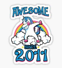 Awesome since 2011 Sticker