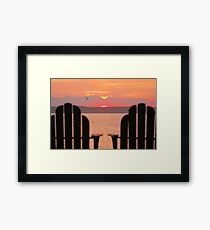 Favorite Chairs Framed Print