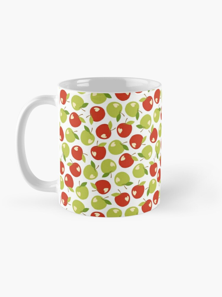 Alternate view of Bitten apples Mug