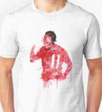Ryan Giggs Manchester United Legend Art Slim Fit T-Shirt