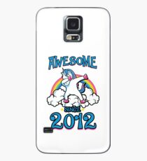 Awesome since 2012 Case/Skin for Samsung Galaxy