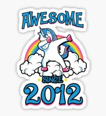 Awesome since 2012 Sticker