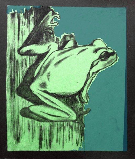 Frog by Rebeka Golingi