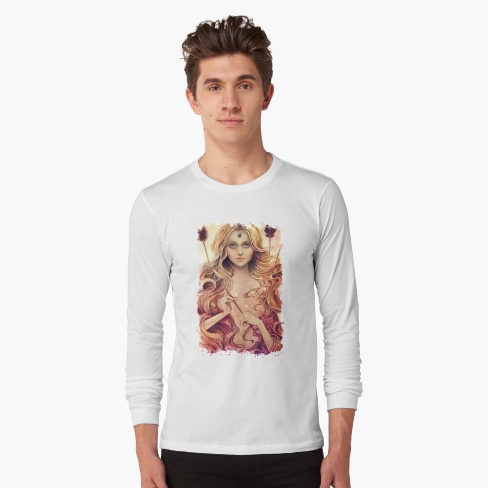 Zodiac Sagittarius  Long Sleeve T-Shirt
