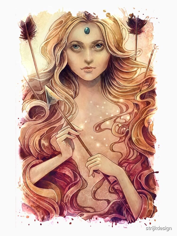 Zodiac Sagittarius  by strijkdesign