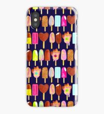 Aussie Ice Creams - Navy iPhone Case
