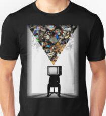 TV Head Minimalism Design Unisex T-Shirt