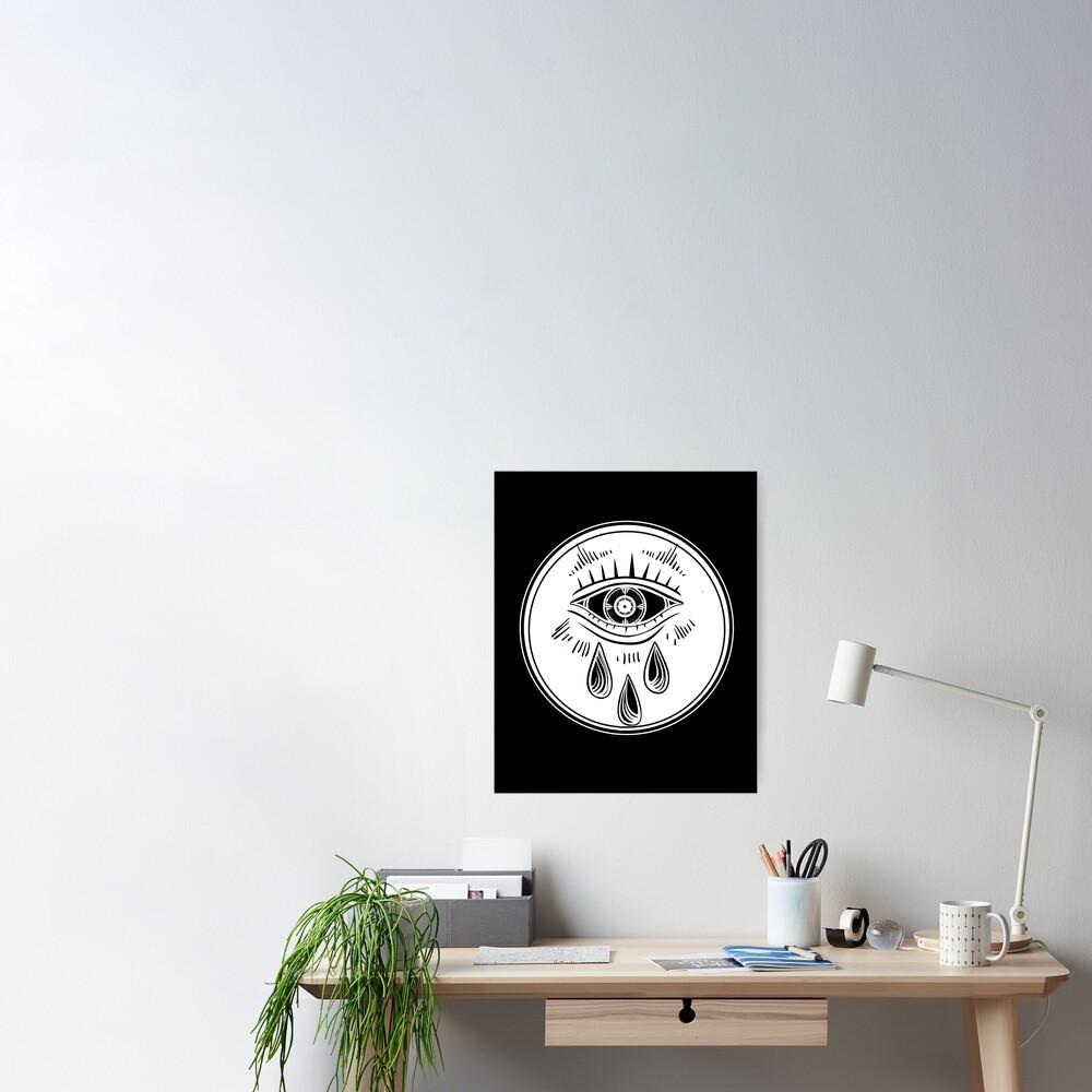 Third Eye Crying - All Seeing Eye Poster