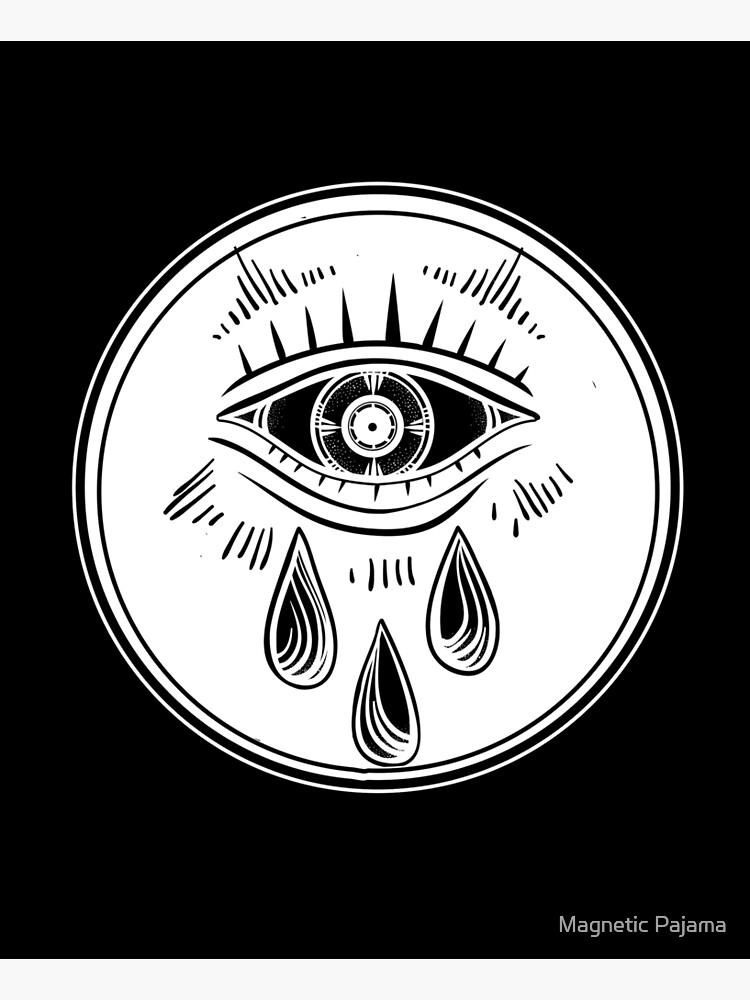 Third Eye Crying - All Seeing Eye by MagneticMama