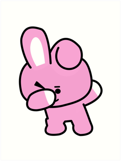 Quot Cooky Dabbing Bts Bt21 Quot Art Prints By Kpopgroups