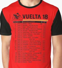 Vuelta a Espana 2018 Graphic T-Shirt