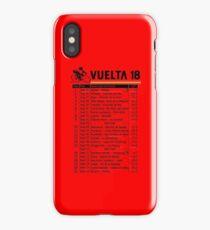 Vuelta a Espana 2018 iPhone Case/Skin