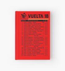 Vuelta a Espana 2018 Hardcover Journal