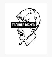 Trouble Maker T-Shirt Photographic Print