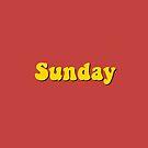 Sunday by artsydraft