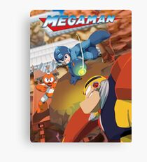 Mega Man 1 Canvas Print