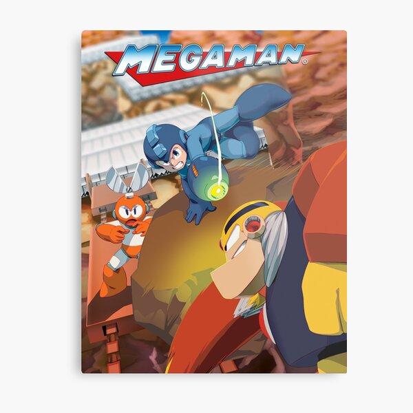 Mega Man 1 Metal Print