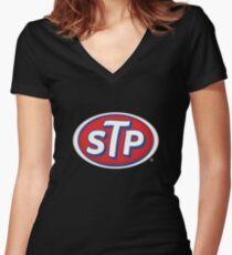 STP Merchandise Women's Fitted V-Neck T-Shirt