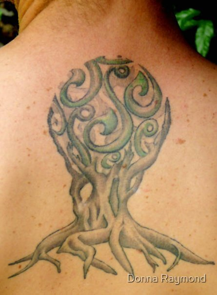 tattoo design by Donna Raymond