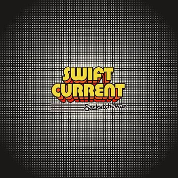 Swift Current, Saskatchewan | Retro Stripes by retroready