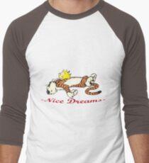 Calvin And Tiger Sleep Men's Baseball ¾ T-Shirt