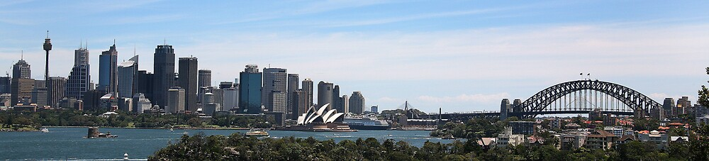 Sydney harbour by Troy Mackaway
