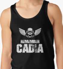 Remember Cadia Imperial Guards Quotes Men's Tank Top