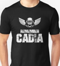 Remember Cadia Imperial Guards Quotes Unisex T-Shirt