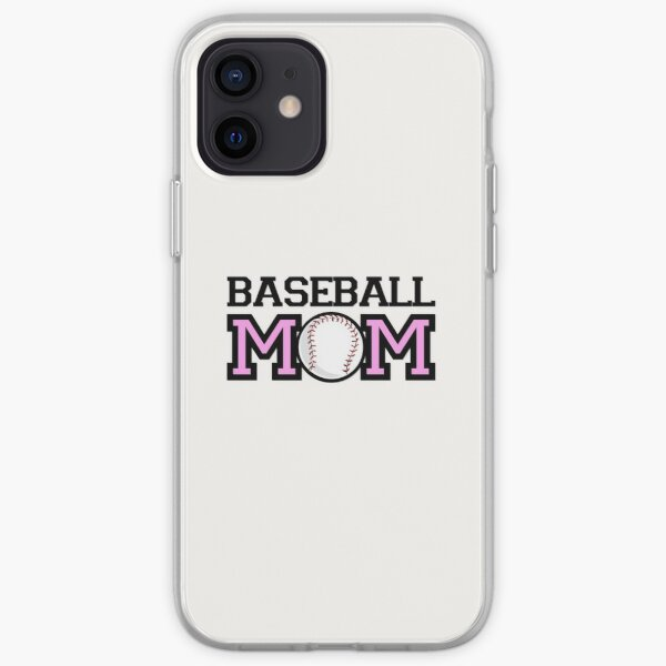 Baseball MOM iPhone Soft Case