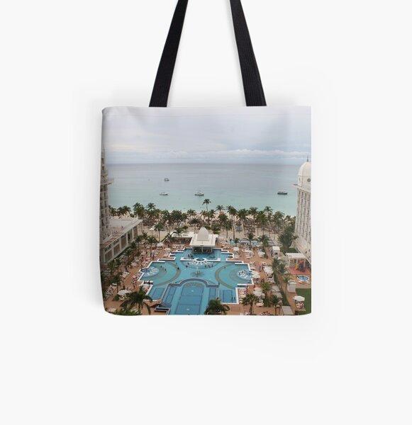 Aruba, resort, spa, health resort All Over Print Tote Bag
