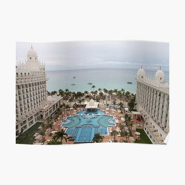Aruba, resort, spa, health resort Poster