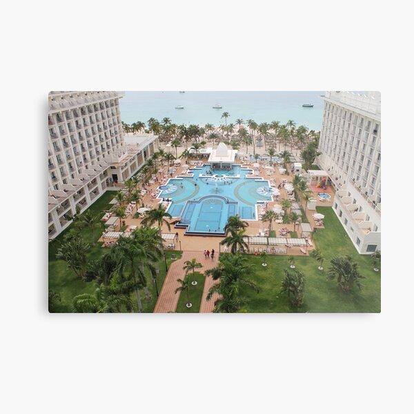 Aruba, resort, spa, health resort, 2017, 02 Metal Print