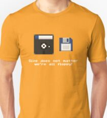 Gaming [C64] (Funnies) - Size does not matter! Unisex T-Shirt