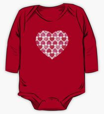 Ruby Hearts One Piece - Long Sleeve