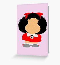 Mafalda Greeting Card
