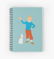 Tintin Spiral Notebook