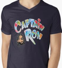 Captain Ron Men's V-Neck T-Shirt