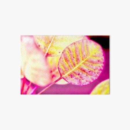 Lollipop Leaf Art Board Print