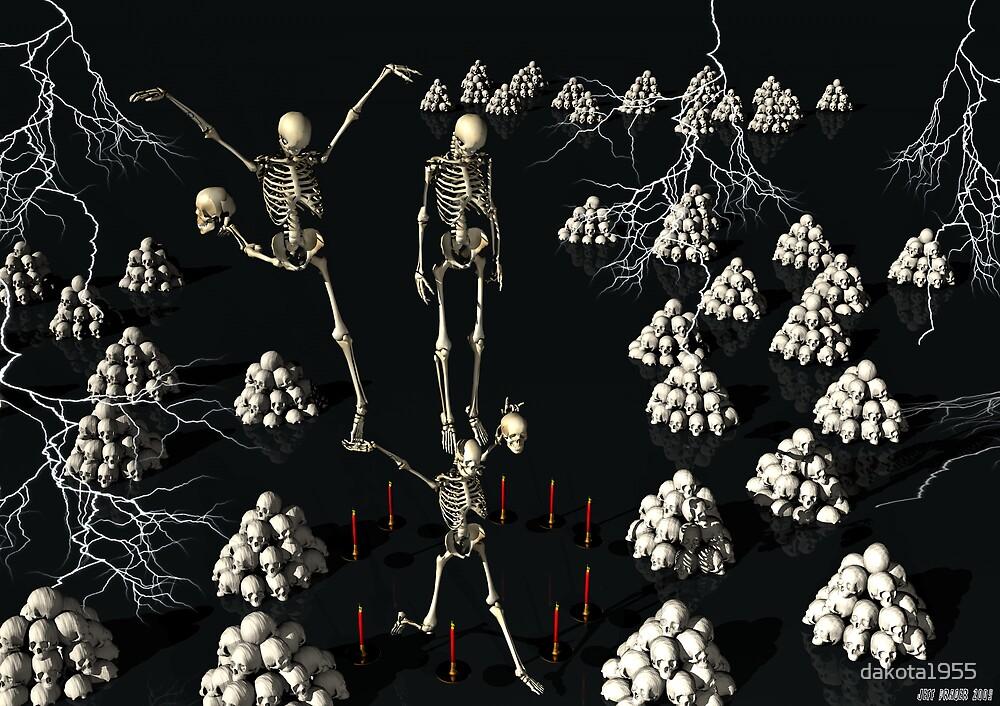 Skeletal Ballet by dakota1955
