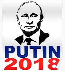 Póster Putin 2018