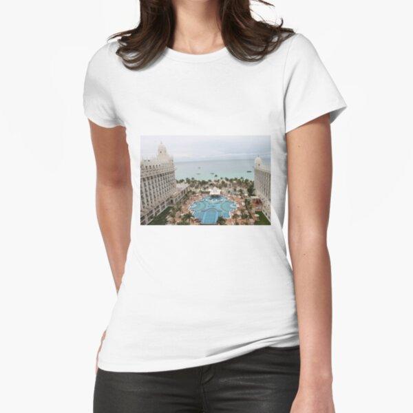 Aruba, resort, spa, health resort, 2017, 03 Fitted T-Shirt