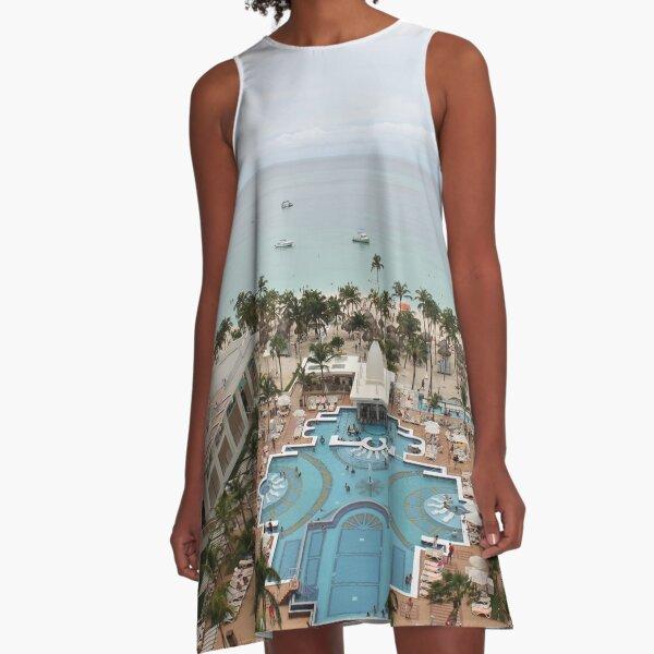 Aruba, resort, spa, health resort, 2017, 03 A-Line Dress