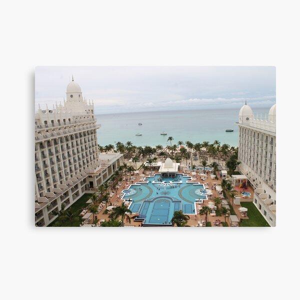 Aruba, resort, spa, health resort, 2017, 03 Canvas Print