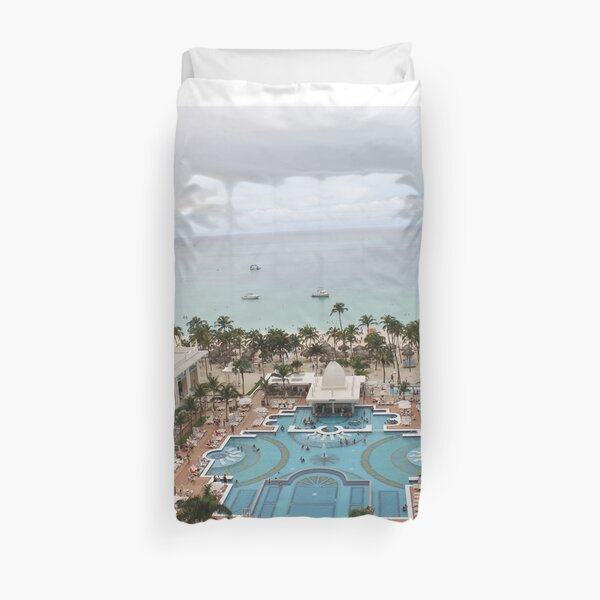 Aruba, resort, spa, health resort, 2017, 03 Duvet Cover
