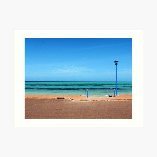 Foreshore, Whyalla, South Australia Art Print