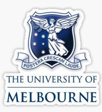 University of Melbourne Logo Sticker
